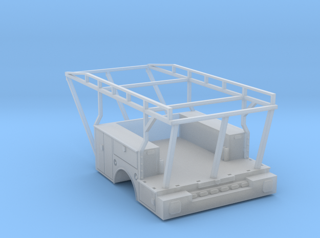 Utility Tool Box Stake Bed - 1-87 HO Scale
