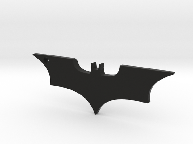 Batman Logo in Black Natural Versatile Plastic