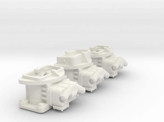 Tri carb 2bbls 1/12 in White Natural Versatile Plastic