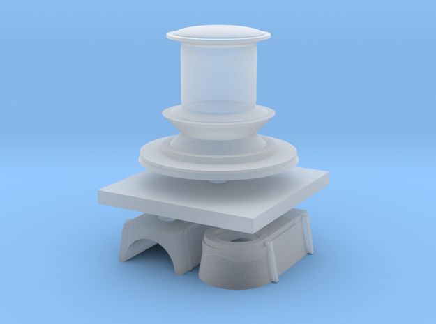 1:144 Navy Capstan in Smooth Fine Detail Plastic