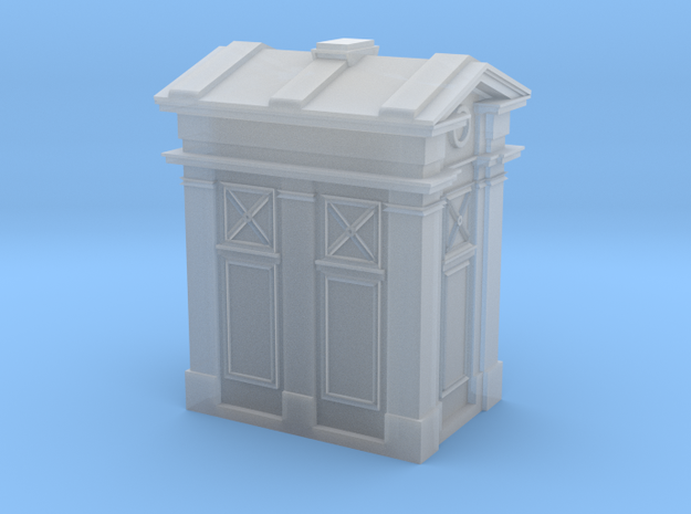 Edinburgh Police Box 2mm/ft Scale in Smooth Fine Detail Plastic