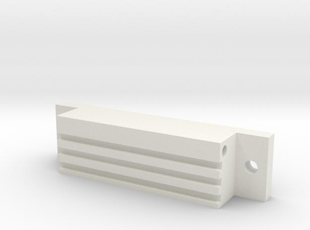 1/10 SCALE GROW ROOM LIGHT BALAST in White Natural Versatile Plastic: 1:10