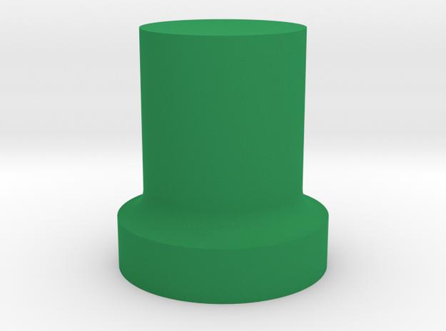 1/10 SCALE GROW ROOM CLONE BASKET in Green Processed Versatile Plastic: 1:10