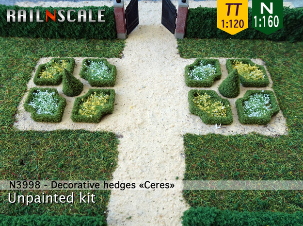 Decorative hedges Ceres (N 1:160 - TT 1:120)