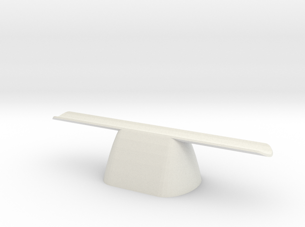 pen rest The Nibopedic hollow in White Natural Versatile Plastic