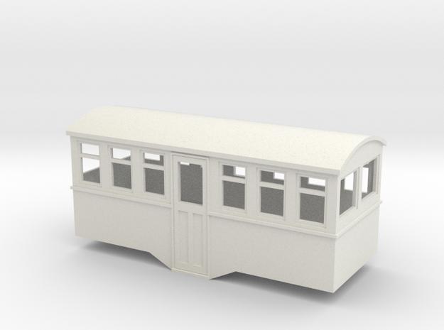 HOe railcar trailer center entrance  in White Strong & Flexible