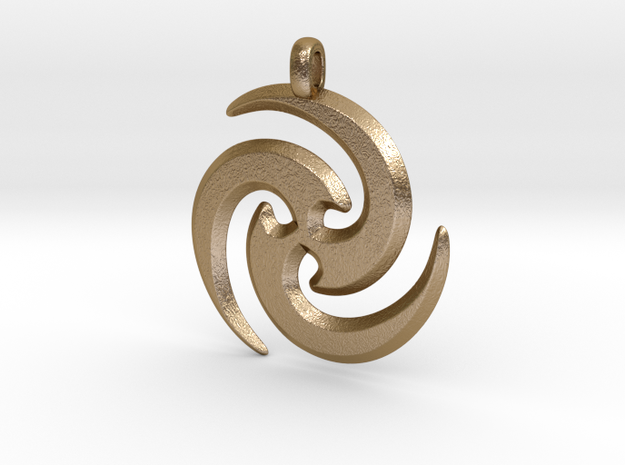Tribal Maori Symbolic Pendant