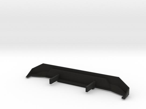 SCX10 Rear Bumper in Black Strong & Flexible