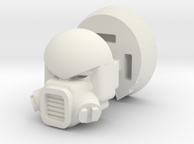 Strika head for Universe Onslaught in White Natural Versatile Plastic