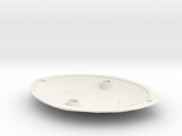 Eye of Agamotto Backplate (Fits V2, made for V3) in White Strong & Flexible