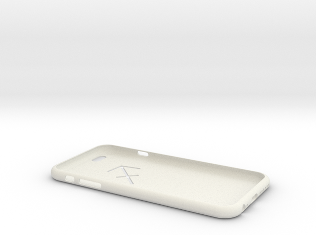 Constellation phone shell in White Natural Versatile Plastic