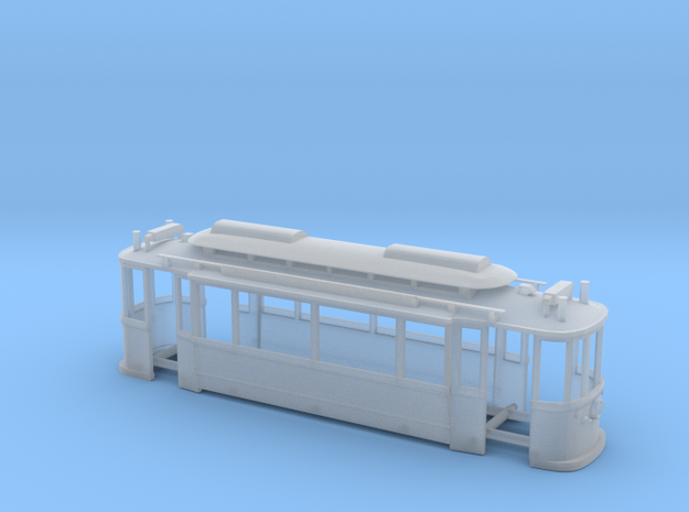 Trolly Model in Smoothest Fine Detail Plastic