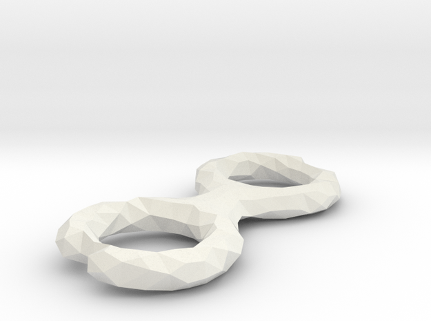 Cord Winder Low Poly in White Strong & Flexible