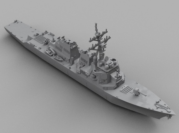 1/1800 USS ArleighBurke in Smooth Fine Detail Plastic