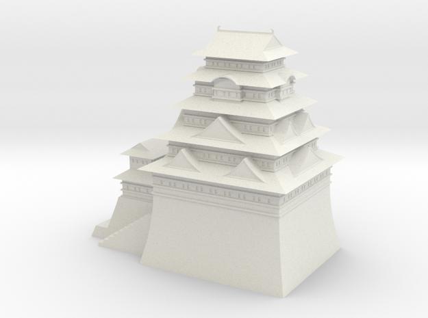 Edo castle in White Strong & Flexible