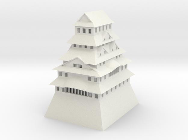 Himeji Castle in White Strong & Flexible