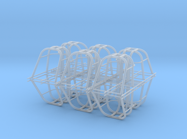 dragster cage 12 pack in Smooth Fine Detail Plastic