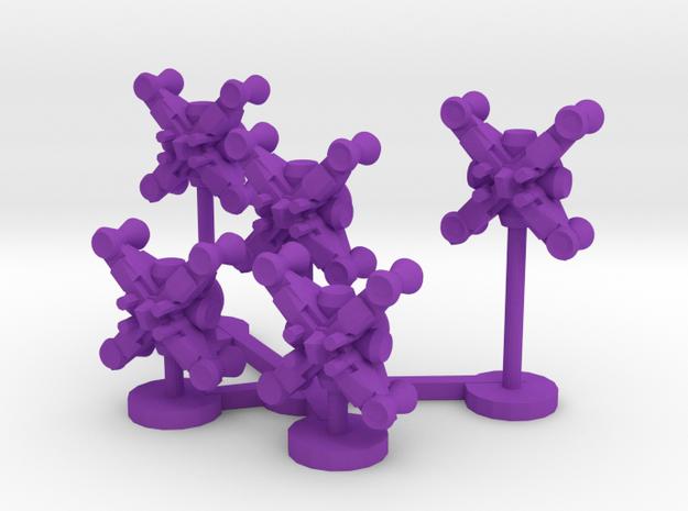 Colour Renar Brawler Wing in Purple Processed Versatile Plastic
