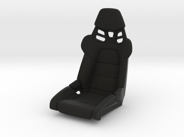 Race Seat P-RS-991-Type - 1/10 in Black Natural Versatile Plastic