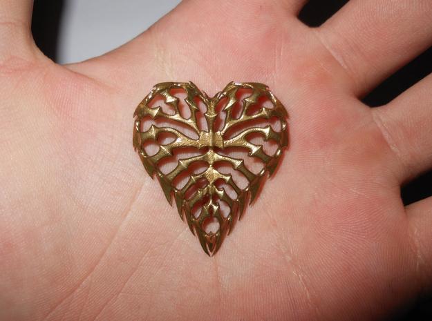 rib heart 01 (printing) 3d printed