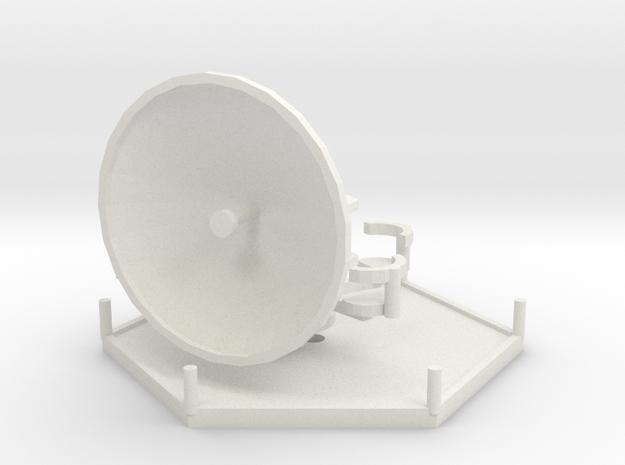 1/144 Wuerzburg Radar station in White Strong & Flexible