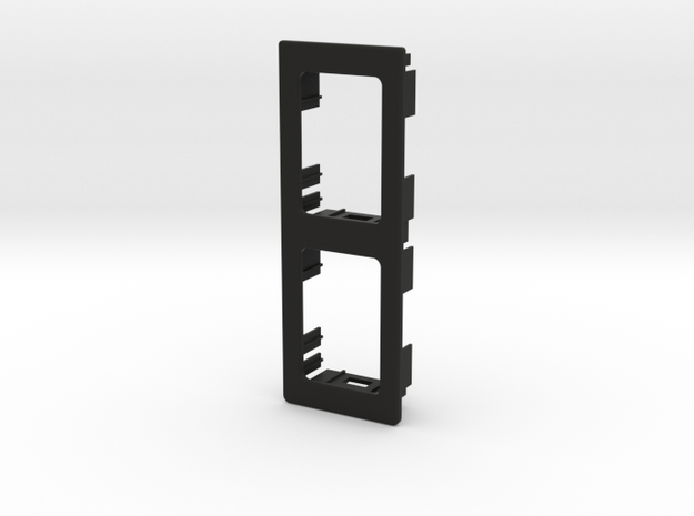 2 OEM Vertical Panel 91mmx33mm in Black Strong & Flexible