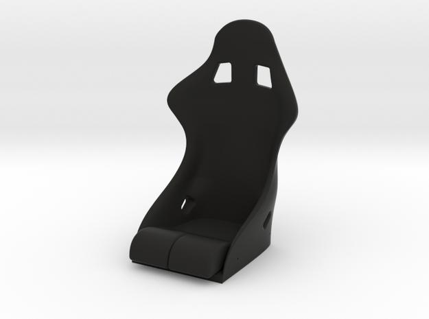 Race Seat S-REV Type - 1/10 in Black Strong & Flexible