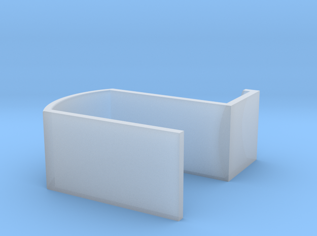 Earhanger in Smooth Fine Detail Plastic