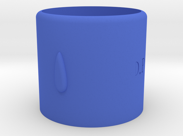 D.P Cup in Blue Strong & Flexible Polished