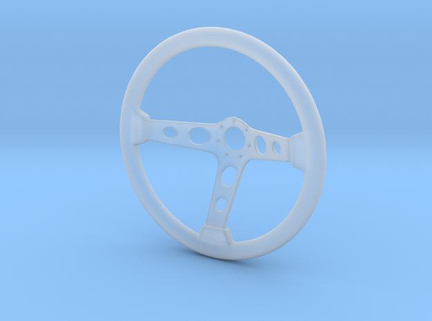 Steering Wheel Deep-Dish Type - 1/10 in Smooth Fine Detail Plastic