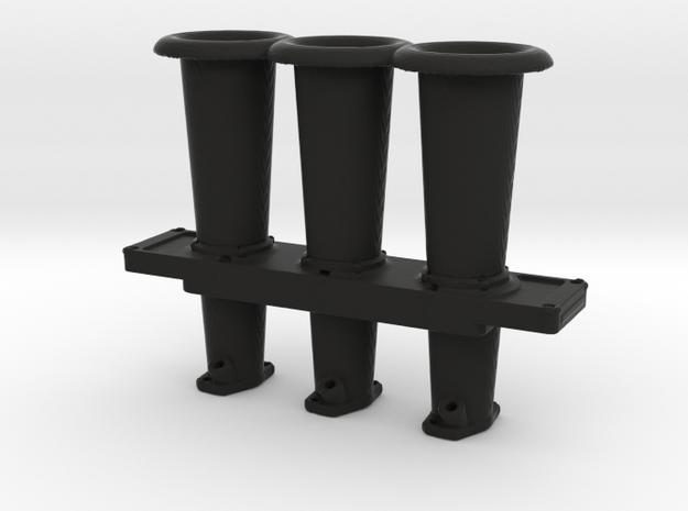 Slide Throttle Bodies - 911 Type - 1/10 in Black Natural Versatile Plastic