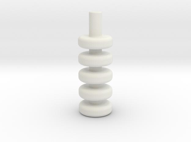 Relax in White Strong & Flexible: Medium