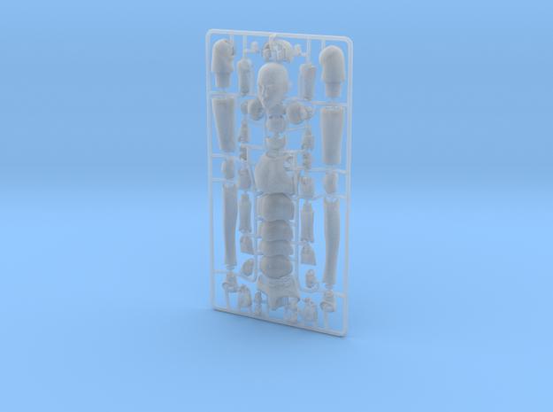 1:12 FUD ALTER EGO Male Bjd Doll Kit 3d printed