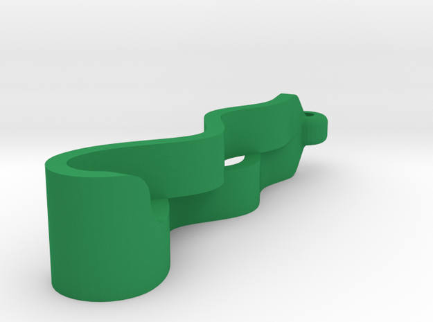 R2 EarRings in Green Strong & Flexible Polished
