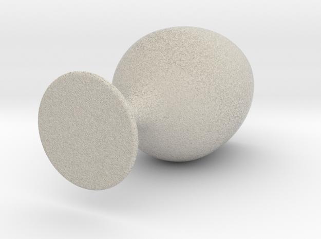 1st digital glas in Natural Sandstone
