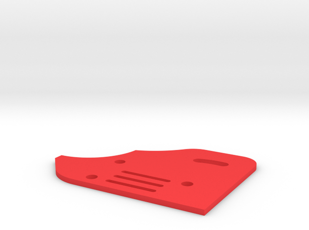 Sideplate Right Version2 for F 1 rear wing