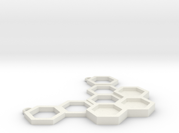 Honeycomb in White Strong & Flexible: Small