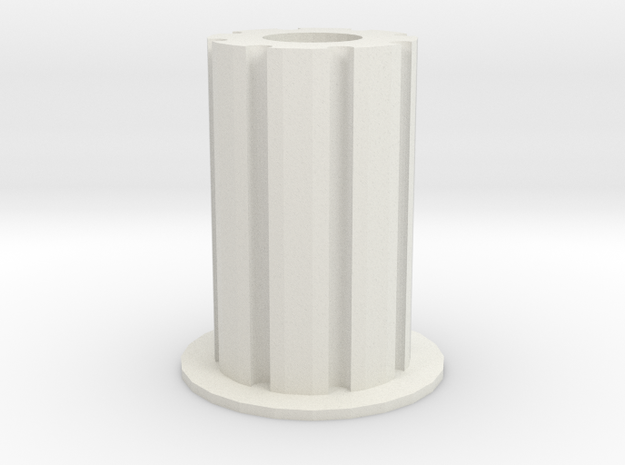 Pencil Holder in White Strong & Flexible: Small