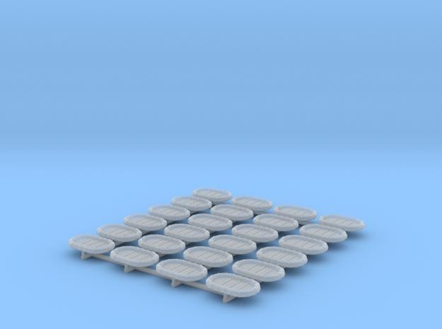 1/500 RN WW2 14ft x 9ft Carley Floats (24)