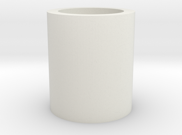 Barrel/Hop Up Spacer 14mm in White Strong & Flexible