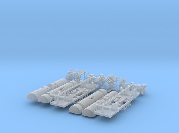 JNR- Taki 10450 type MCP&MC8 2cars set in Smooth Fine Detail Plastic