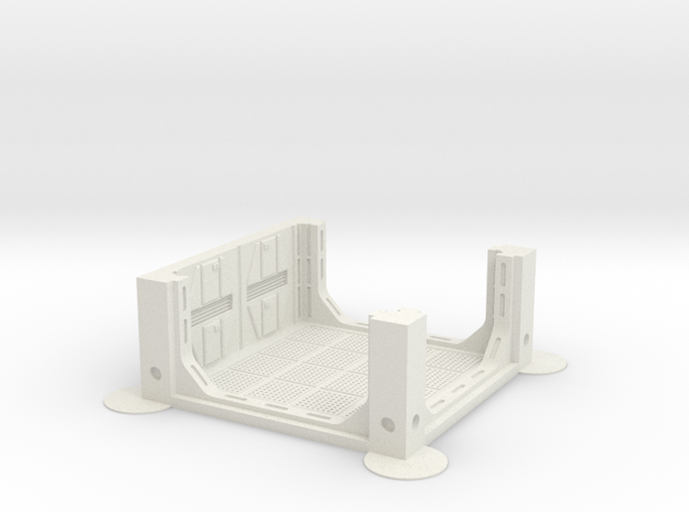 Imperial Assault tile 31A in White Strong & Flexible