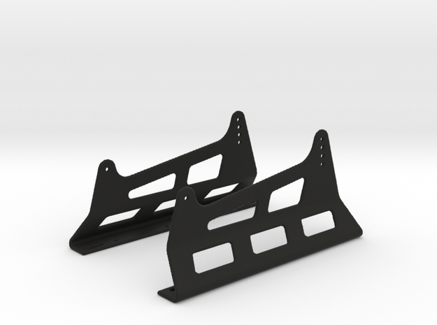 Race Seat Anchoring HM-Type - 1/10 in Black Strong & Flexible