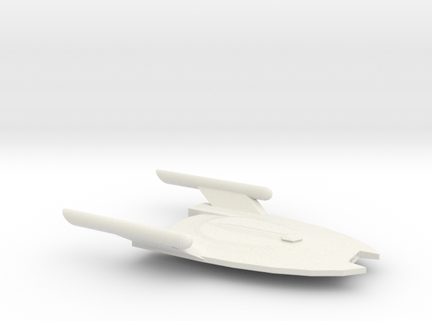 Serpent-Class Escort in White Natural Versatile Plastic