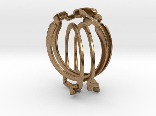 Holistic Ring interlocking metal