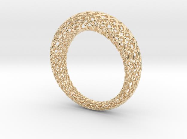 Netzring in 14K Yellow Gold