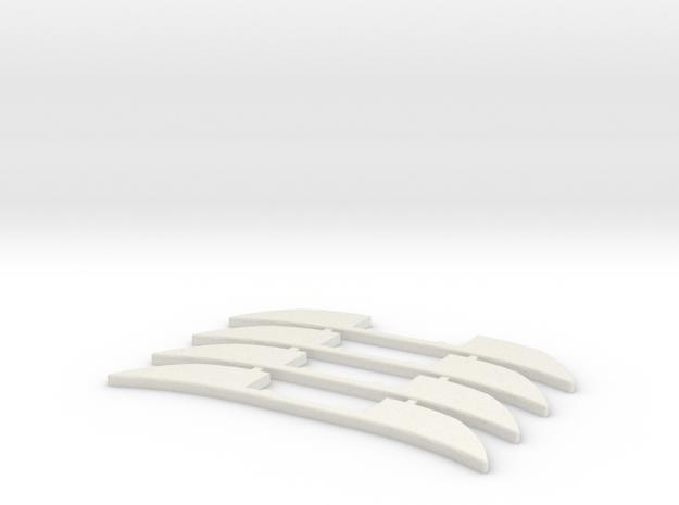 Renfort Mosler MiniZ 4pc in White Natural Versatile Plastic