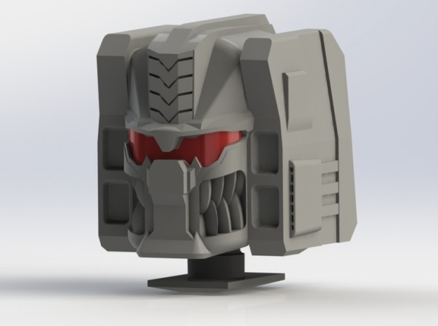 Grimlock Head Kit-Ultra Class in White Processed Versatile Plastic