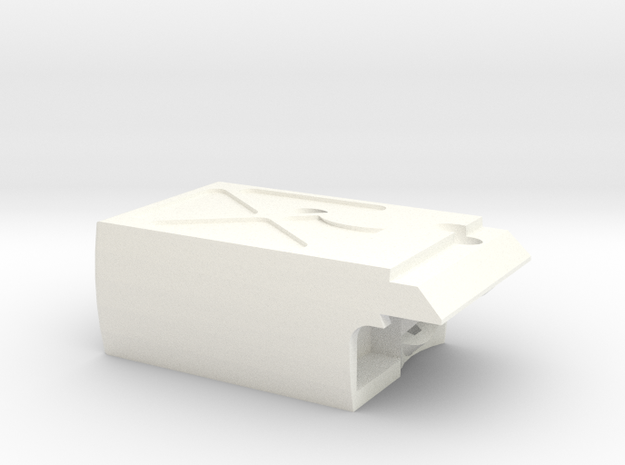 ICD Cat Magwell V2.3 in White Processed Versatile Plastic