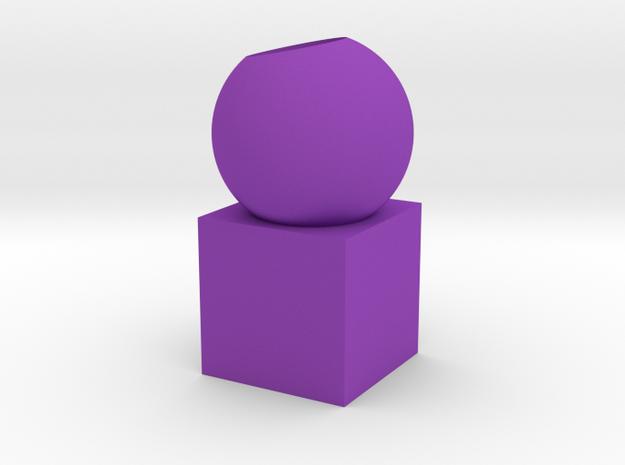 Pen holder in Purple Processed Versatile Plastic